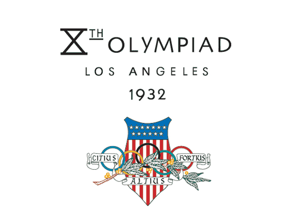 Logotipo de las olimpiadas Los Angeles 1932