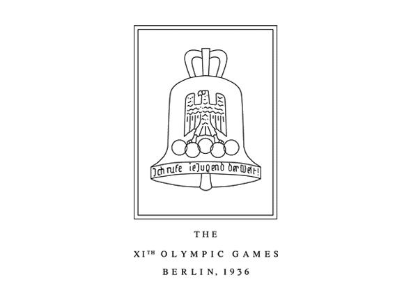 Logotipo de las olimpiadas Berlín 1936