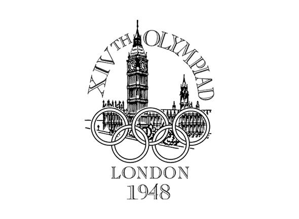 Logotipo de las olimpiadas Londres 1948
