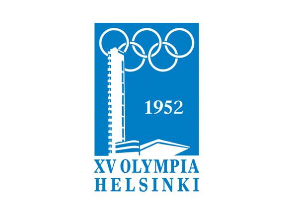 Logotipo de las olimpiadas Helsinki 1952
