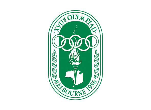 Logotipo de las olimpiadas Melbourne 1956