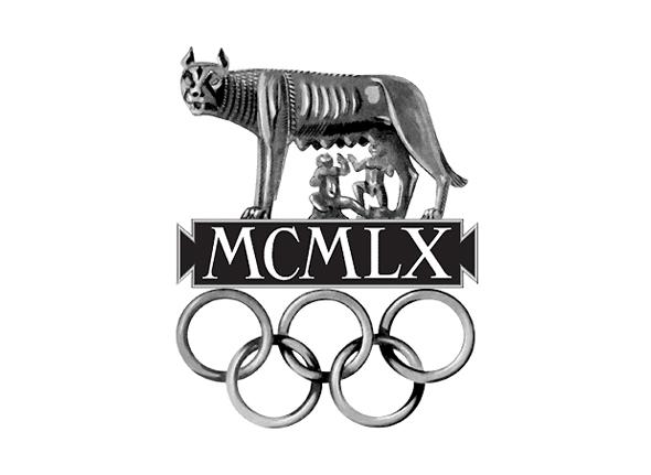 Logotipo de las olimpiadas Roma 1960