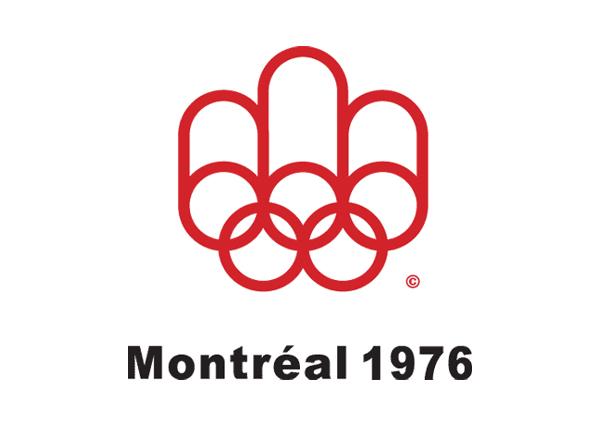 Logotipo de las olimpiadas Montreal 1976 imagen aros olimpicos