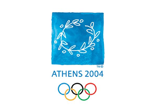 Logotipo de las olimpiadas Atenas 2004 imagen de logo