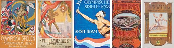 Logotipos de juegos olimpicos del siglo pasado imagen siglo XX