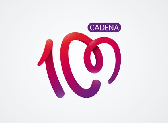 logotipo cadena 100