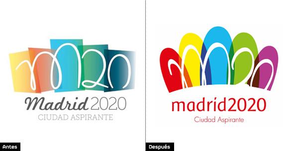 El Logotipo De Madrid 2020 Se Estrena Con Un Aluvion De Criticas
