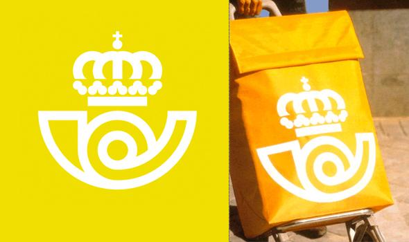 logotipo de Correos  diseñador por José María Cruz Novilla