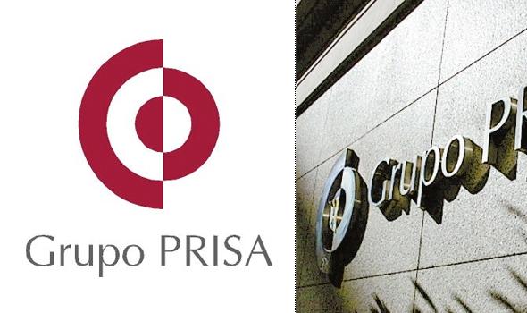 logotipo de Grupo Prisa  diseñador por Pepe Cruz Novilla