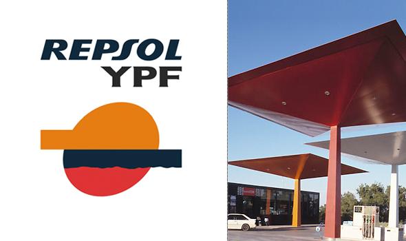 imagen de marca de Repsol YPF  diseñador por Pepe Cruz Novilla