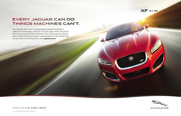 slogan y publicidad de la marca de coches Jaguar