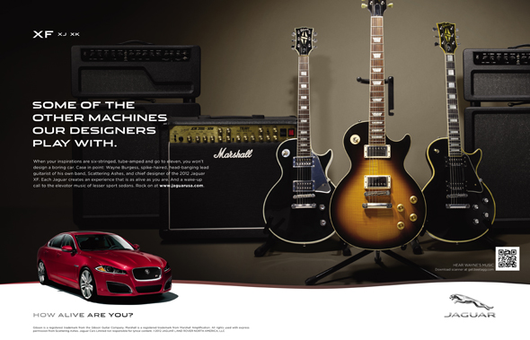 publicidad marca jaguar imagen