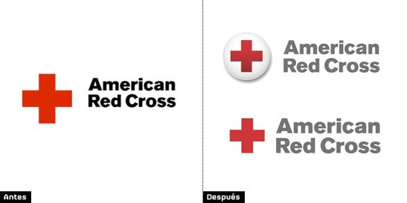símbolo de Cruz Roja Americana - American Red Cross evolución e historia