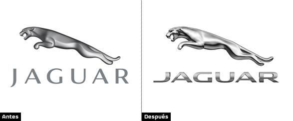 comparación logo marca jaguar imagen del símbolo de la marca