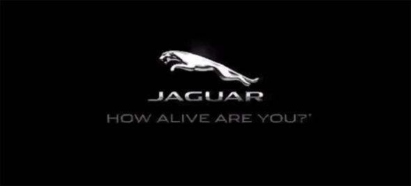 imagen del rediseño de la marca Jaguar con el slogan How alive are you? como de vivo estas