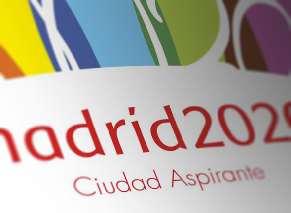 ejemplo tipografia Baar Sophia para el logo candidatura Madrid 2020