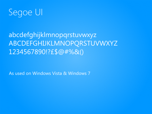 tipografia logo windows 8