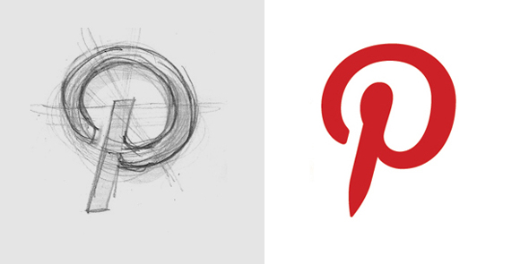 diseño del logo pequeño de pinterest - Brandemia_