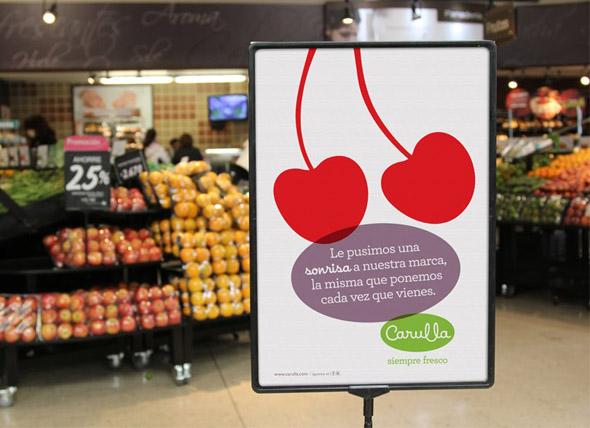 imagen de publicidad carulla en supermercados