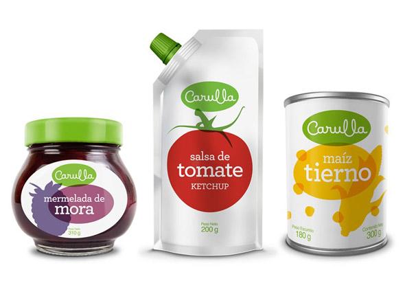 imagen de mermelada, salsa de tomate y maiz Carulla
