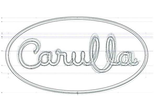 análisis del diseño del logo de Carulla, linea gráfica de la marca de supermercados