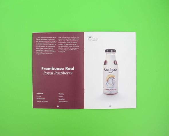 imagen bote zumo frambuesa real cuckoo zumos naturales