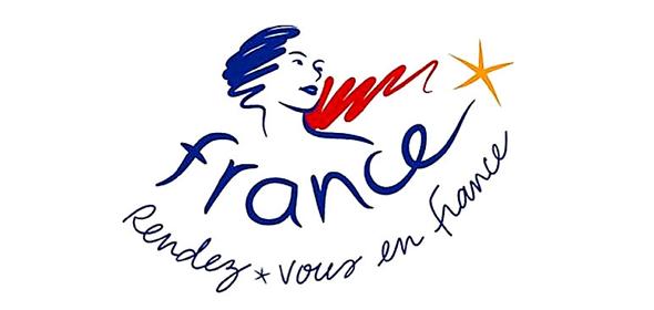 logo turístico Francia , nos vemos en Francia