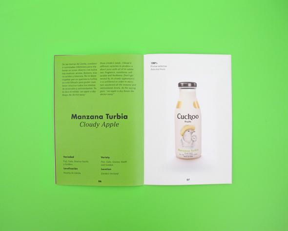 imagen bote zumo manzana turbia cuckoo zumos naturales