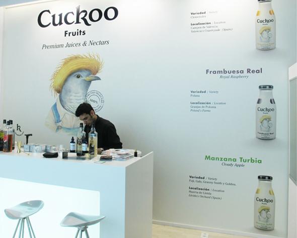 imagen de tienda cuckoo zumos naturales
