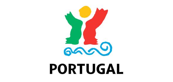 logo portugal colores rojo y verde