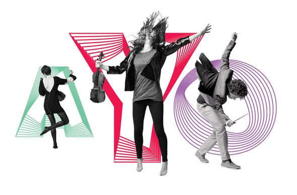 imagen Australian Youth Orchestra jovenes con instrumentos