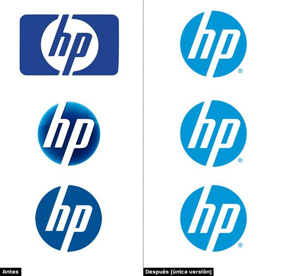 HP presenta un ligero rediseño de su identidad corporativa ...
