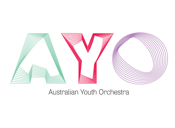 logotipo Australian Youth Orchestra - Brandemia_