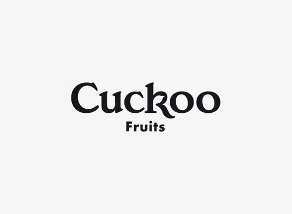 logo original cuckoo fruits zumos naturales con gran variaedad de sabores