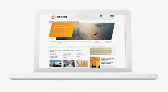 Rediseño de la web de Repsol