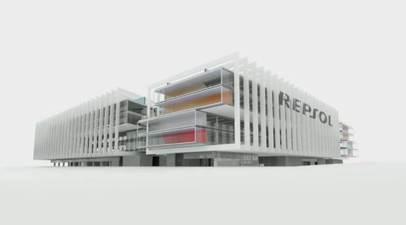 Nueva sede en 3 dimensiones de Repsol
