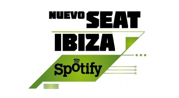 Co-branding Seat Ibiza y Spotify unión de marcas para publicitar un producto conjunto