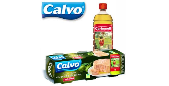 Cobranding en España las marcas Atún Calvo y aceite de oliva Carbonell