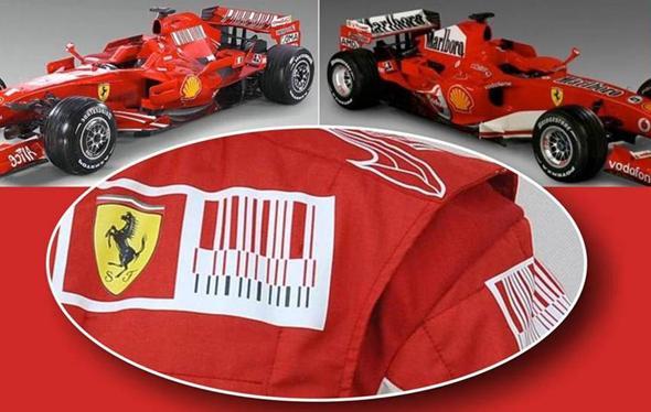 Co-branding Ferrari y Malboro ejemplo de publicidad conjunta de marcas