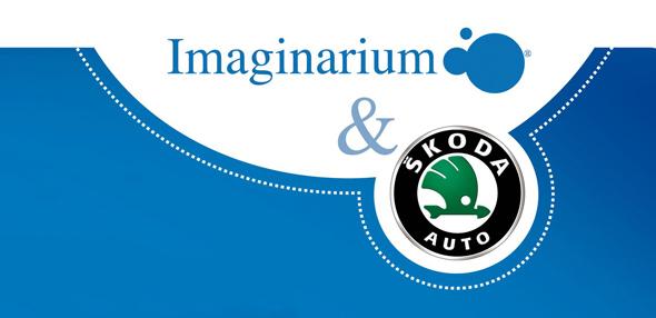 imagen de ejemplo de Co branding Imaginarium y Skoda