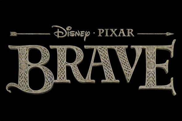 Logotipo Brave Disney Pixar - Brandemia_
