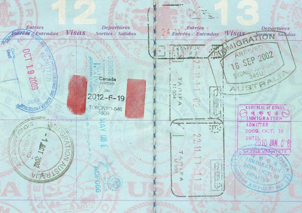 imagen de pasaporte Canada