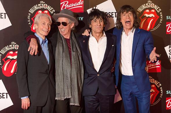 Imagen Rolling Stones 50 aniversario