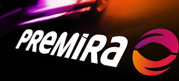 slogan y banner de premira publicidad marca de transporte de energía