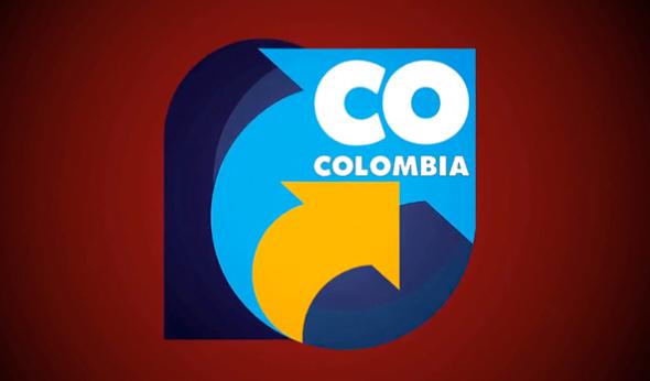 imagtipo desde 1974 que identifica Colombia con el acrónimo CO