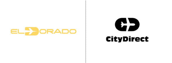 rediseño del logotipo el dorado