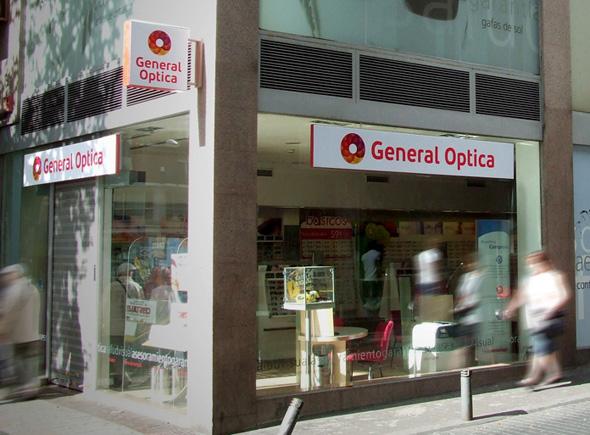 imagen de tienda de general optica
