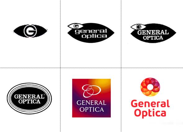 historia del logo de general optica