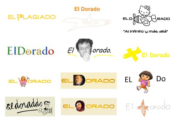 parodias y memes del logotipo el dorado