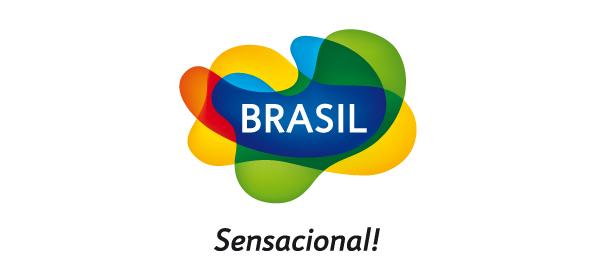logo de la marca país Brasil sensacional